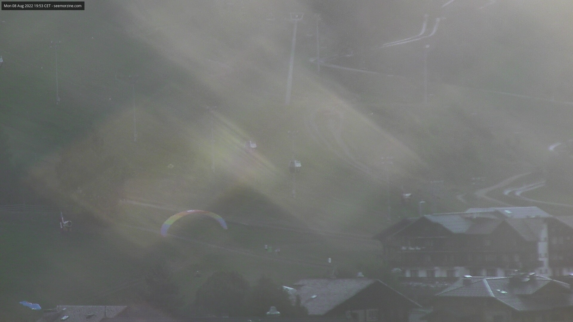 Morzine Pleney resort webcam